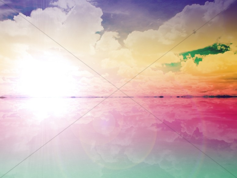 Easter Design Worship Background