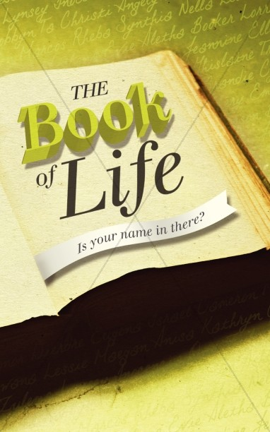 Book of Life Bulletin Design
