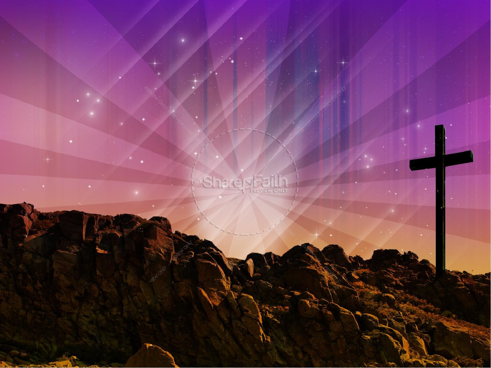 Easter Graphics The Power Of The Cross Sermon PowerPoints | Easter ...