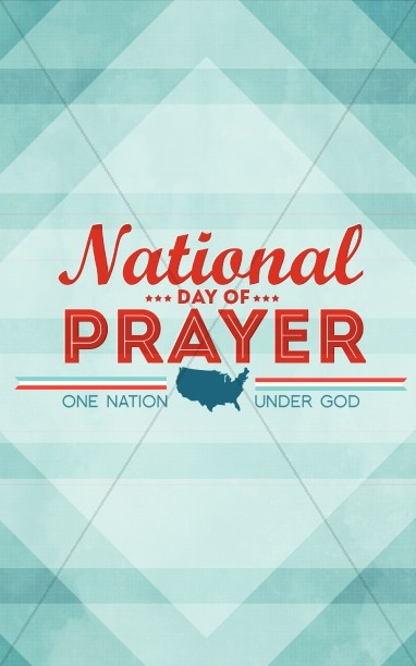 National Day of Prayer Church Bulletin