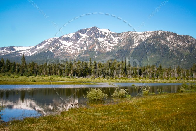 Mountains Religious Stock Image