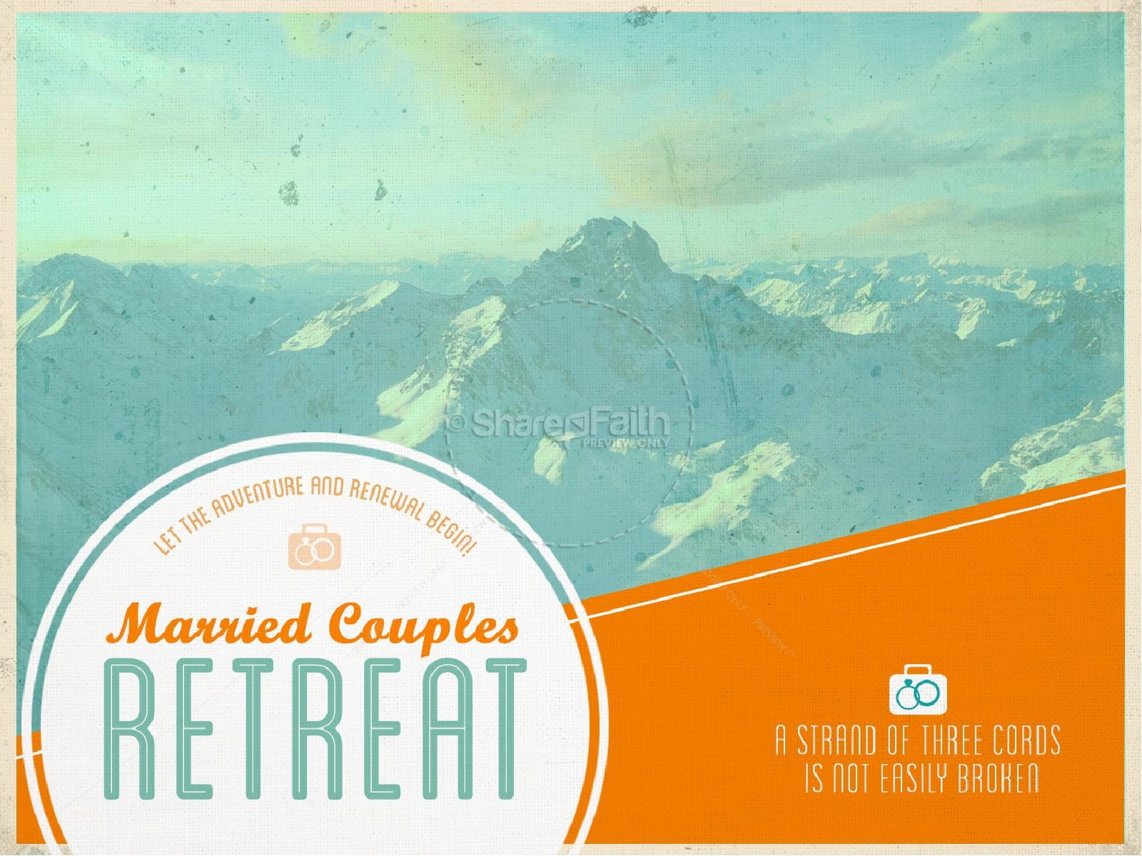 Marriage Retreat PowerPoint