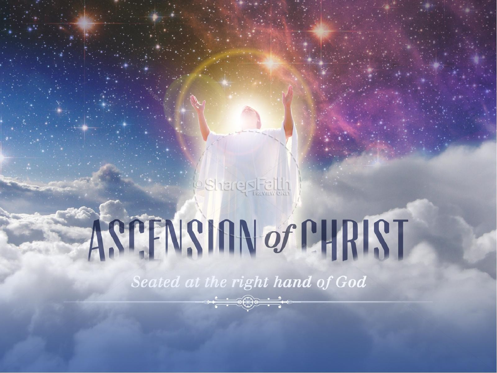 Ascension of Christ PowerPoint Sermon