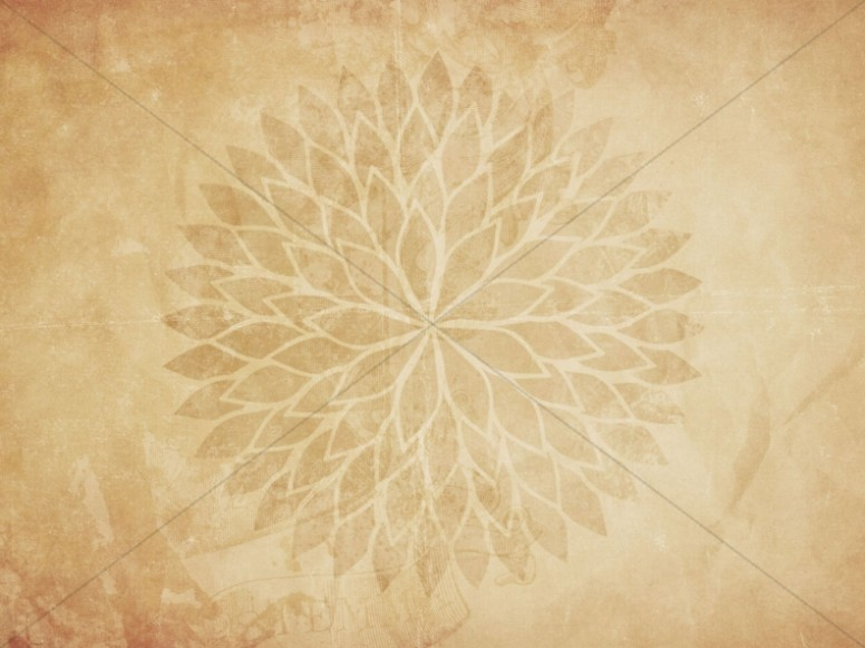 Sepia Petals Worship Background