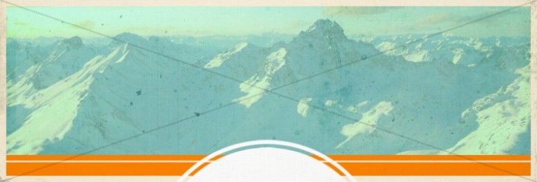 Mountains Website Banner Design