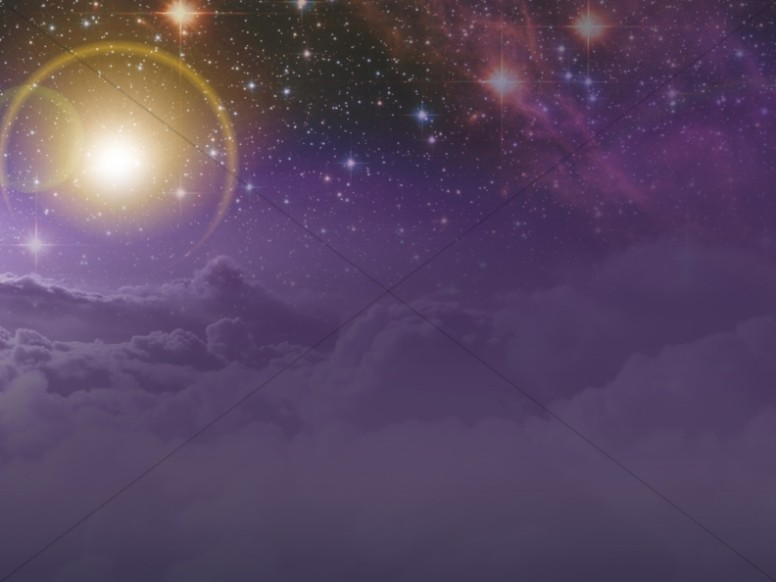 Space Worship Background