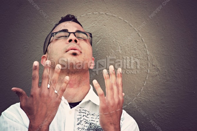 Continue in Prayer Religious Stock Photo
