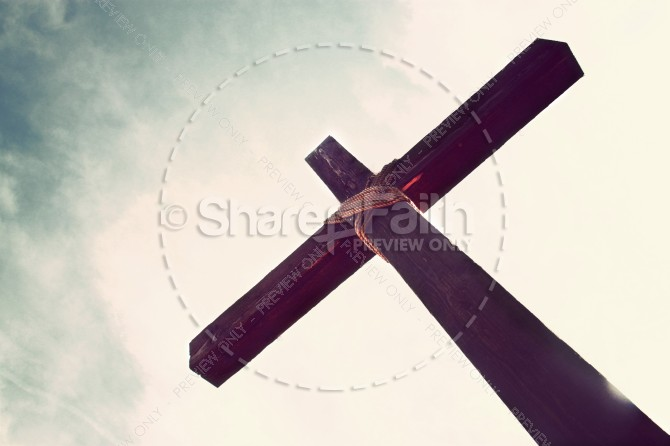 Cross of Christ Religious Stock Image