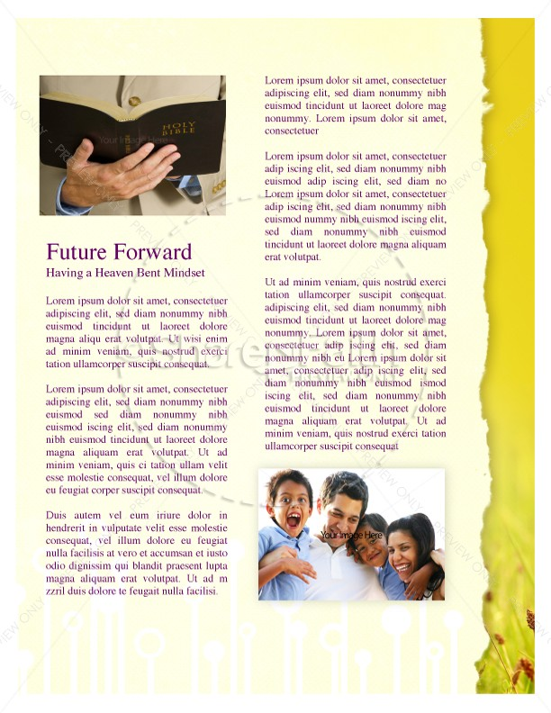 Summer Newsletter Template for Church | page 3