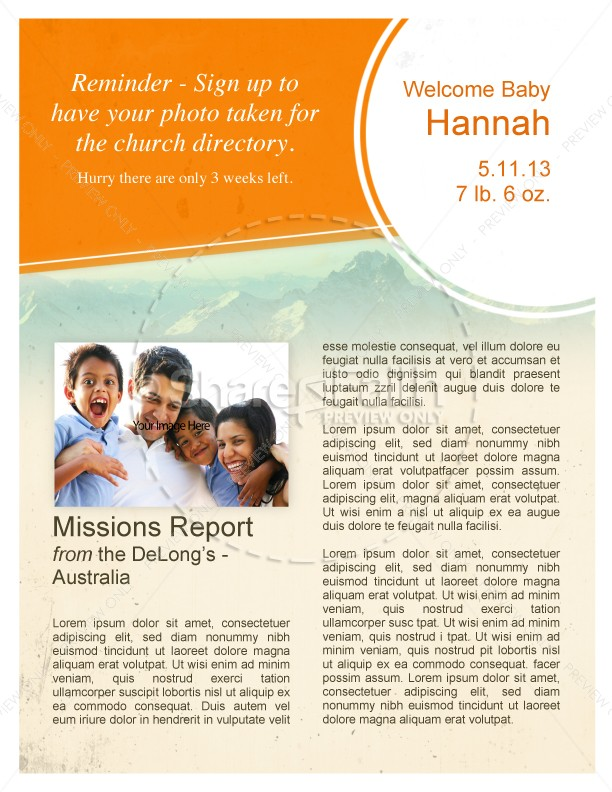 Pentecostal Church Newsletters