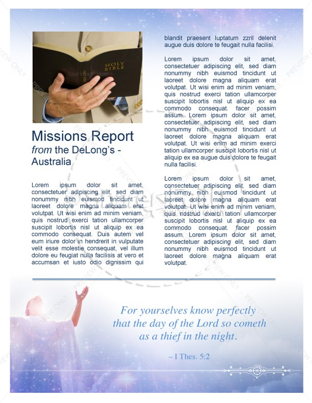 Assembly Of God Newsletters
