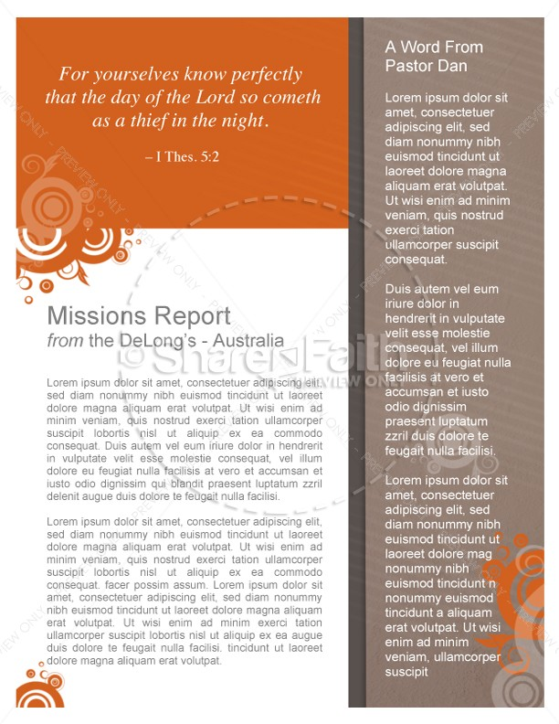Young Adult Ministry Newsletters
