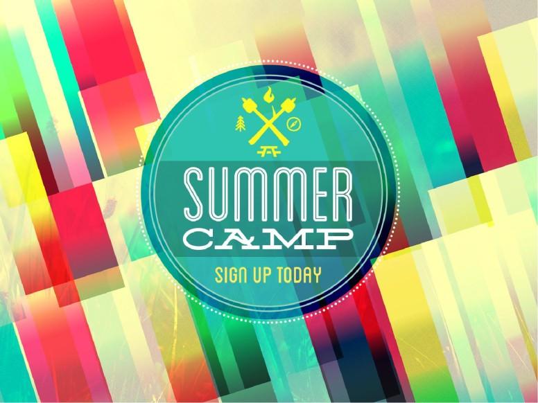 Bible Summer Camp Church PowerPoints Announcements