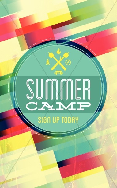 Summer Camp Brochure Template Bulletin Sermon Bulletin Covers - Summer camp brochure template