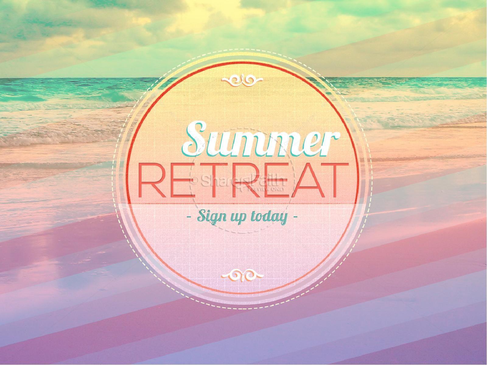 Summer Retreat PowerPoint PowerPoint