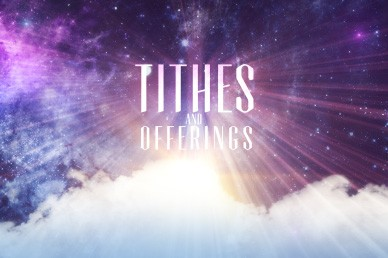 Tithes and Offerings Church Motion Loops