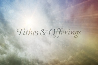 Tithes and Offerings Video Loop for Church