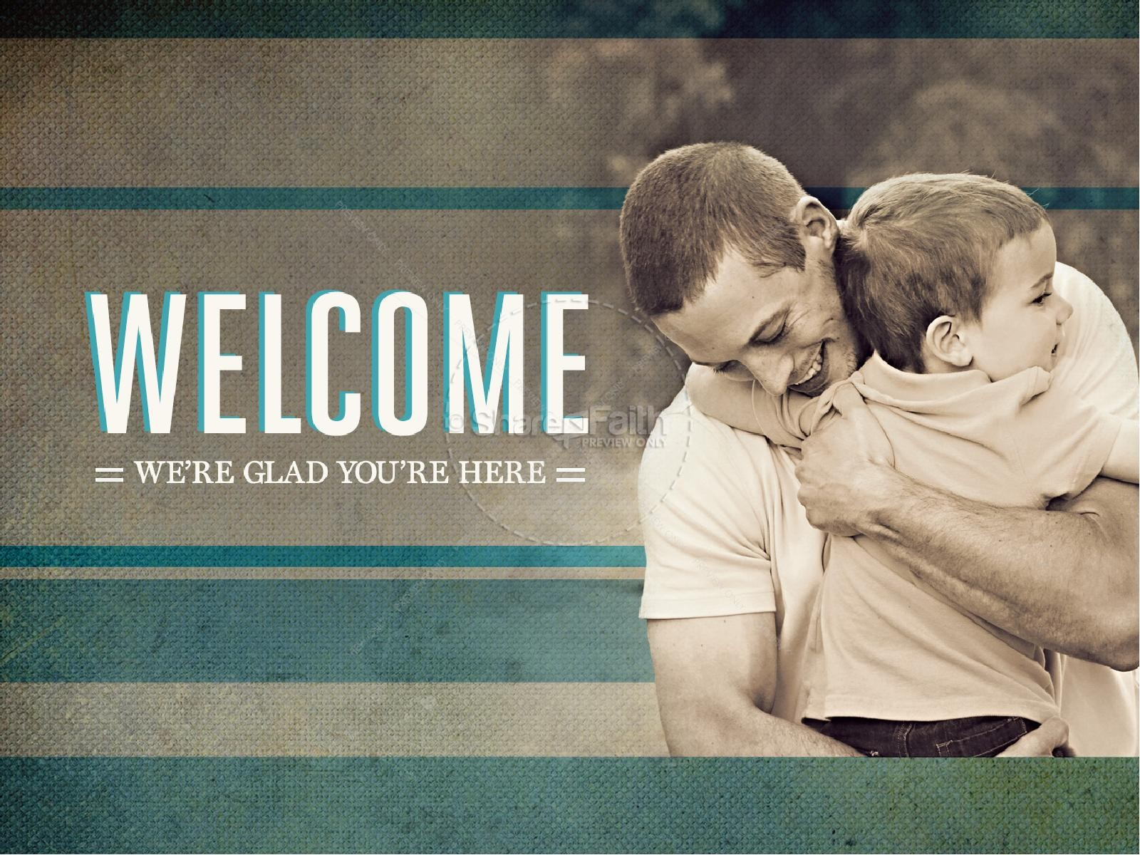 Fathers Day PowerPoint Sermon Church | slide 3