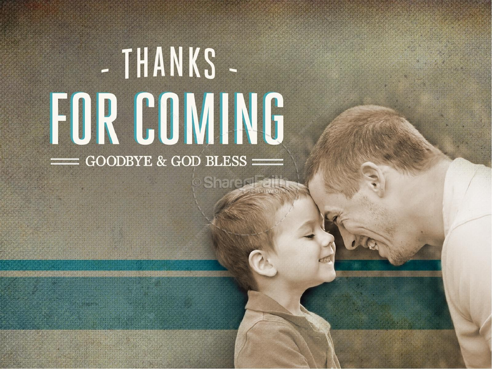 Fathers Day PowerPoint Sermon Church | slide 6