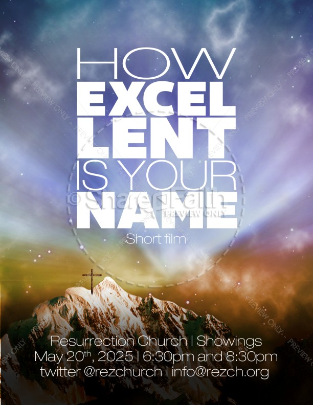 worship flyer templates for church template
