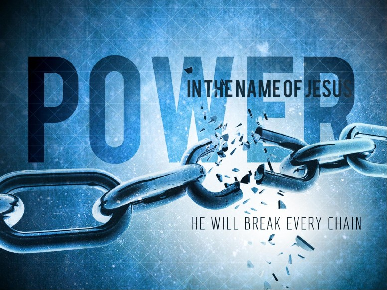 Power in the Name of Jesus Sermon PowerPoint for Church