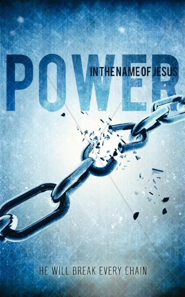 Power in the Name of Jesus Bulletin Cover