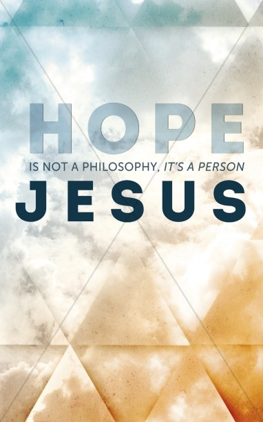 Hope in Jesus Church Bulletin Cover