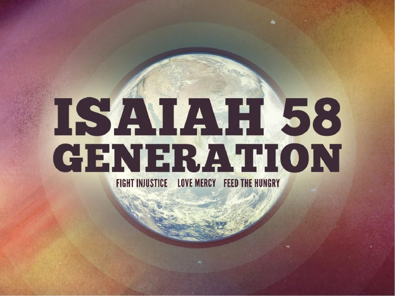 Isaiah 58 Generation Christian Mission PowerPoint for Church