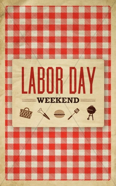 Labor Day Themed Bulletin or Brochure Cover
