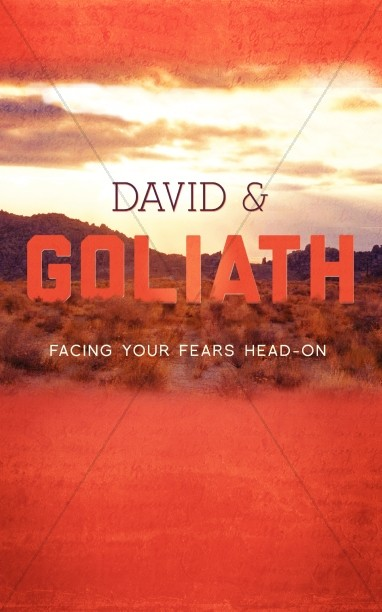 David and Goliath Bulletin Cover