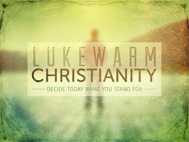 Revelation 3:16 Lukewarm Christianity Church Sermon PowerPoint