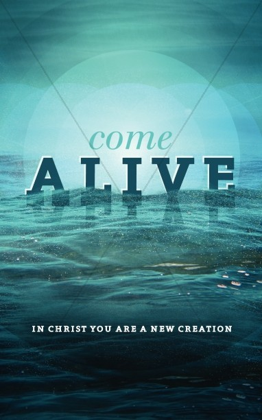 Come Alive Bulletin Cover