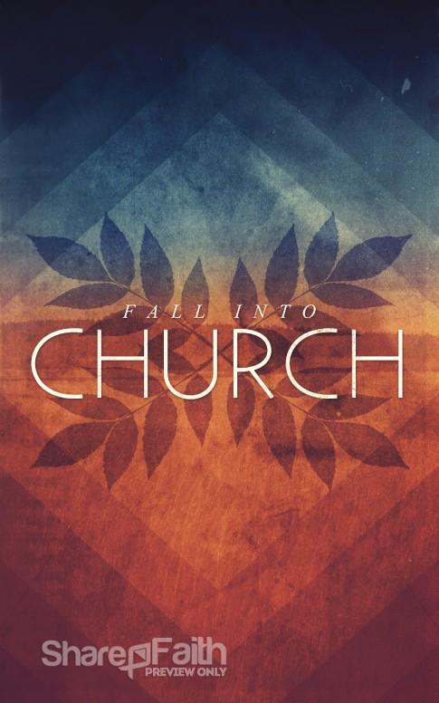 fall into church bulletin cover sermon bulletin covers