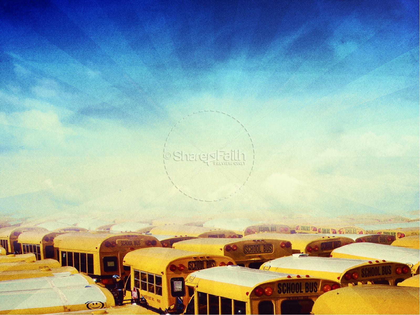 School Buses Top Back to School Graphics PowerPoints | slide 5