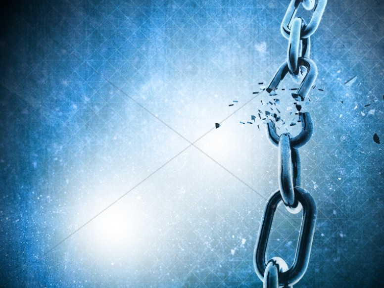 Broken Chain Vertical Worship Background