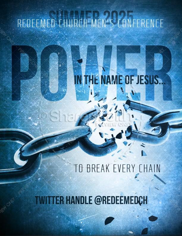 Breaking Chain Flyer