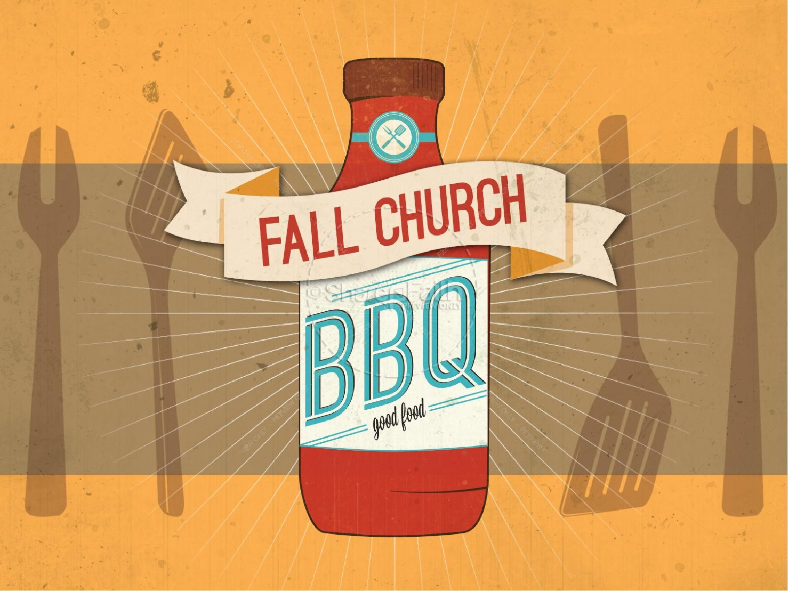 Fall Chuch BBQ PowerPoint