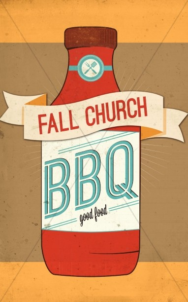 Fall Church BBQ Program Cover