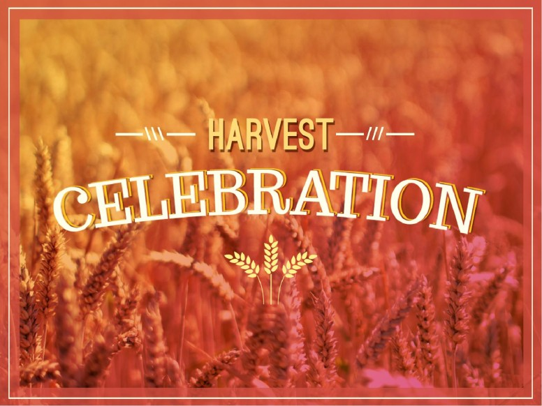Church Harvest Celebration PowerPoint