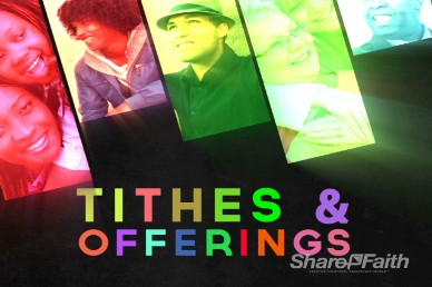 Tithes and Offerings Church Video Motion Loops