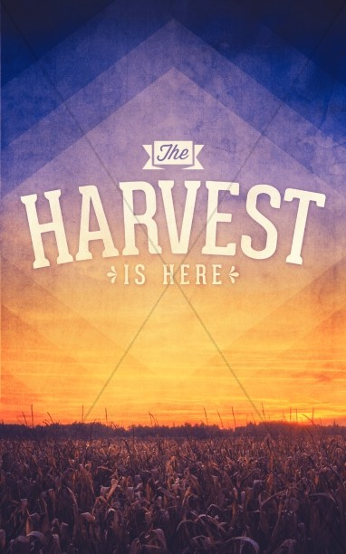 Harvest Church Bulletin Cover