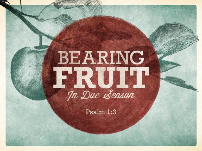 Bearing Fruit PowerPoint Sermon Slides