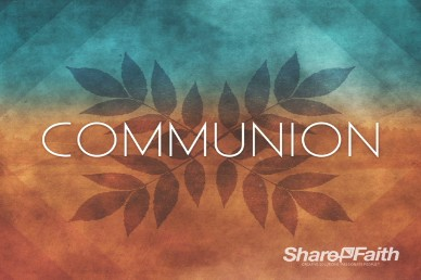 Church Communion Service Video