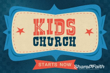 Kids Church Video Loop