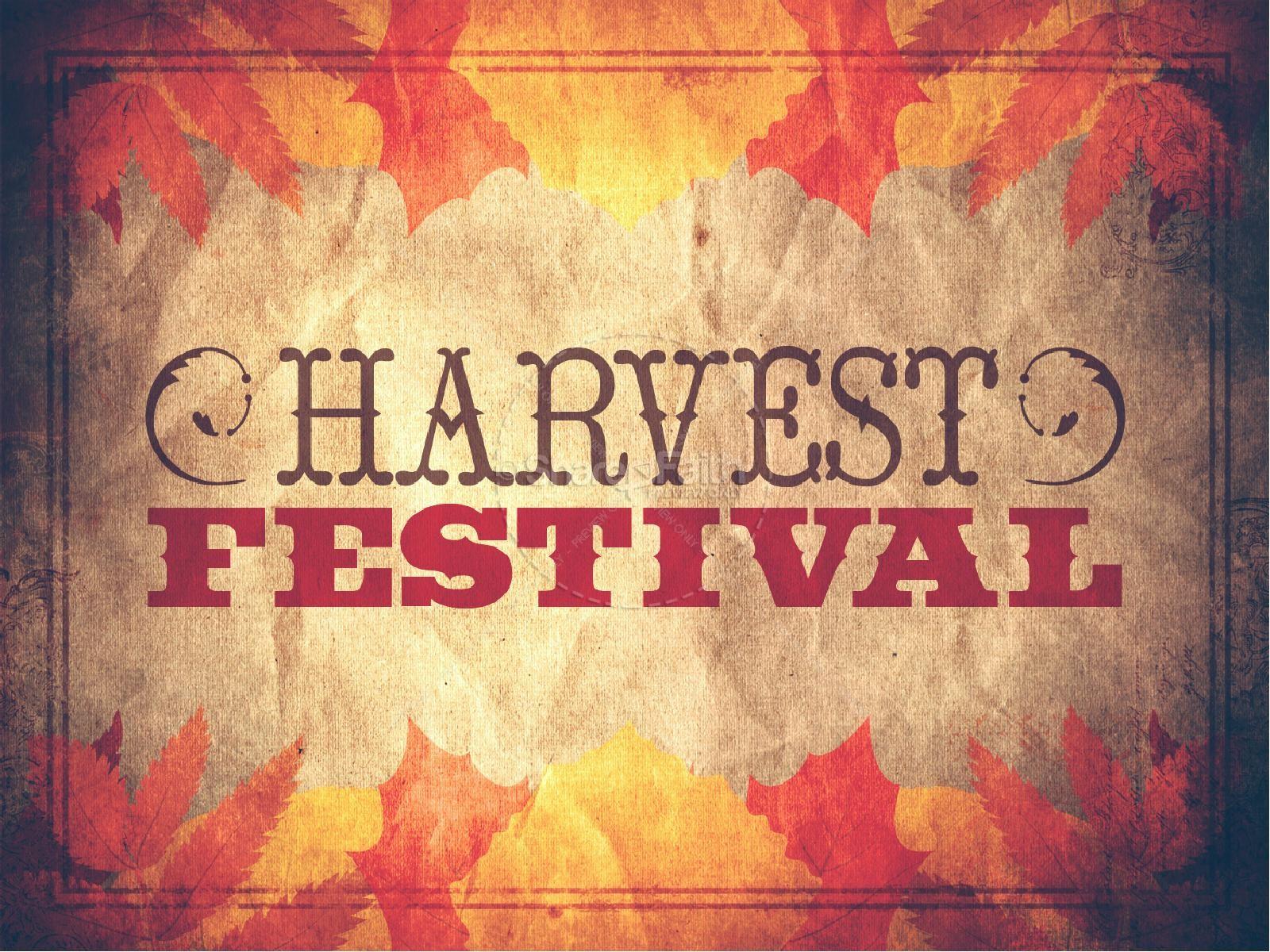 Church Harvest Festival PowerPoint | slide 1