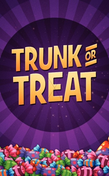 trunk or treat poster bulletin flyer harvest fall church bulletin