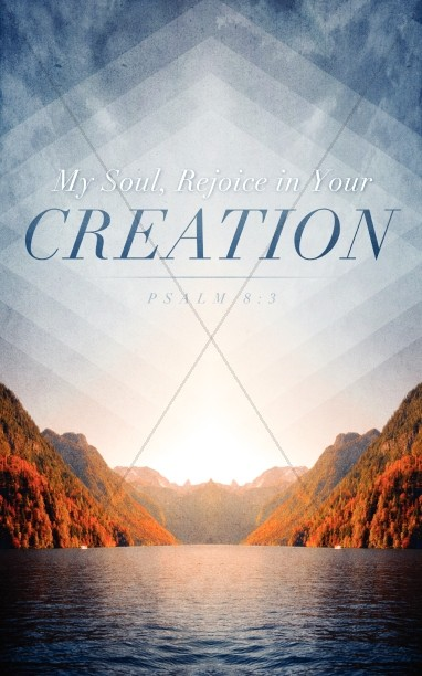 Rejoice In Your Creation Church Bulletin