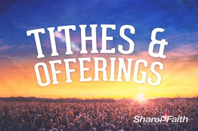 Church Harvest Tithes and Offerings Videos