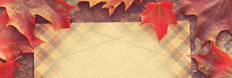 Fall Leaves Website Banner Graphics