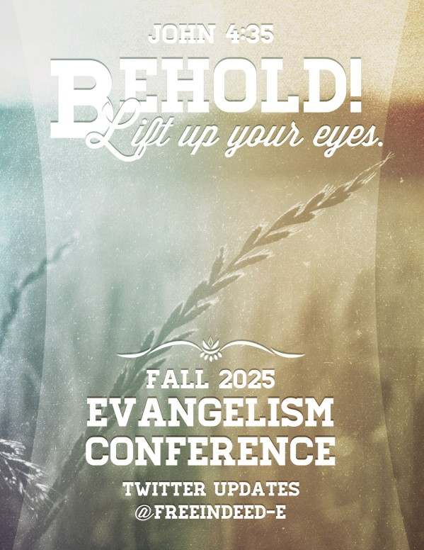 Church Missions Conference Flyer